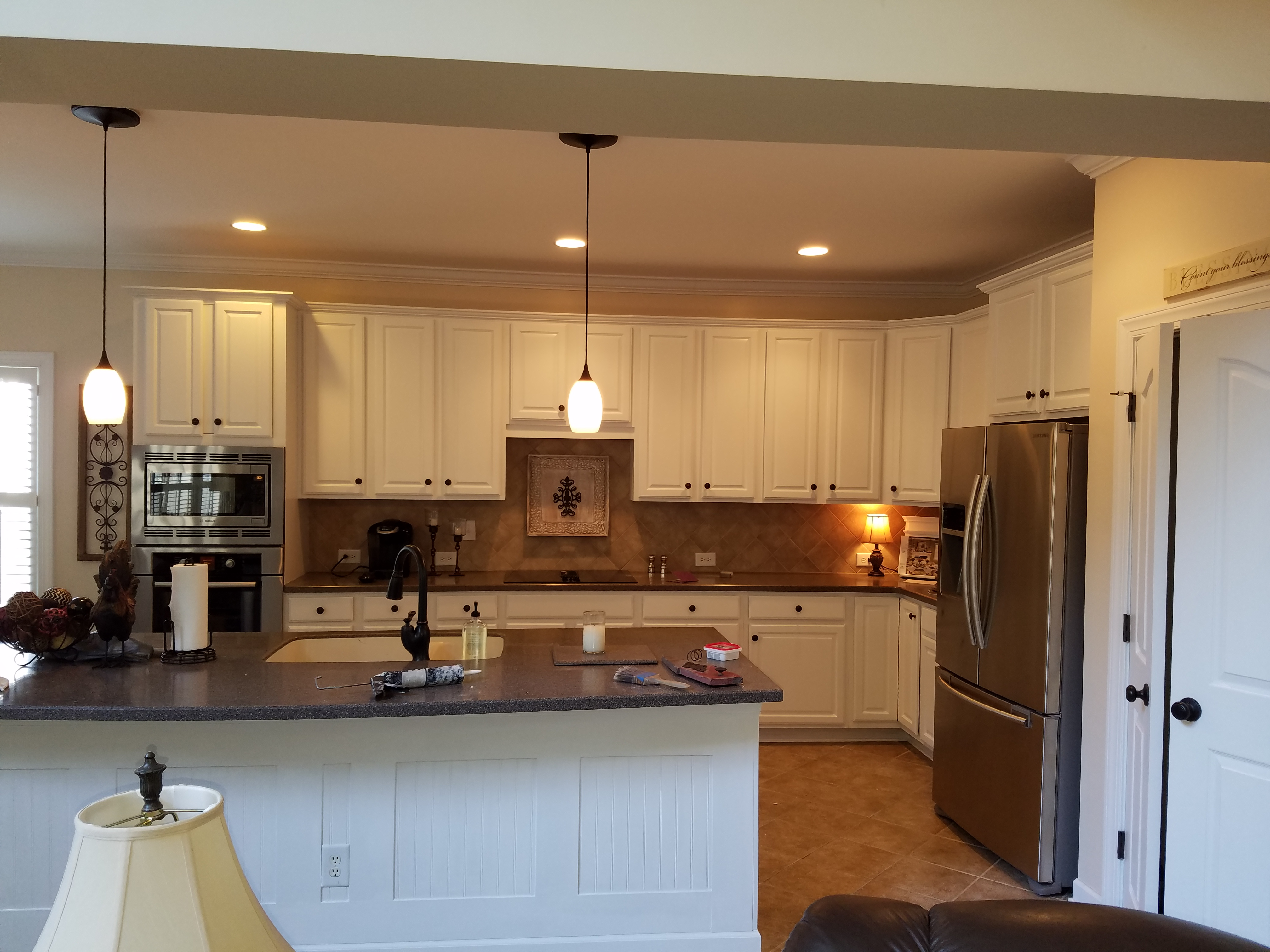 Fireplace White Wash In Mooresville Nc Cabinets In